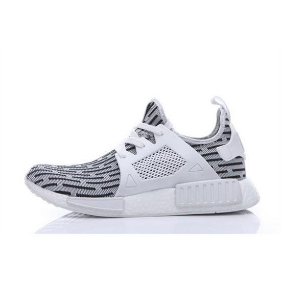 Adidas Originals NMD XR1 Runner Primeknit Mens White/Black, Adidas ...